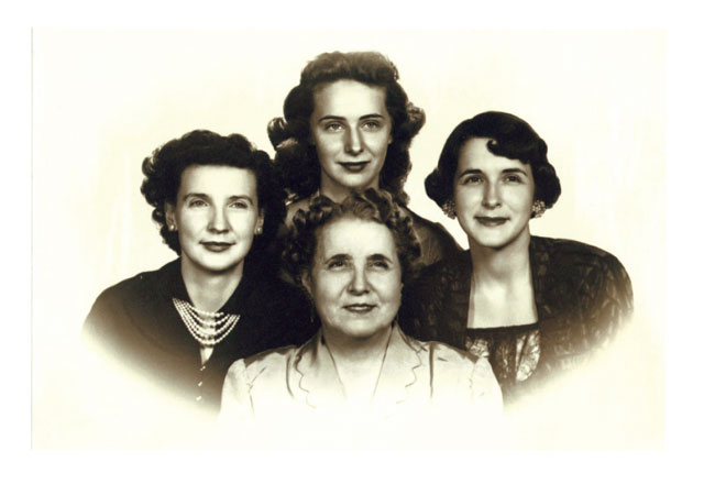 Mary with Sisters & Mother